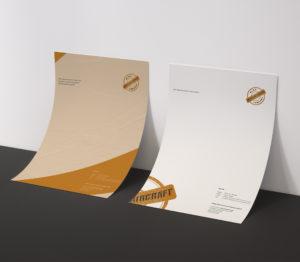 MockUp-Briefpapier